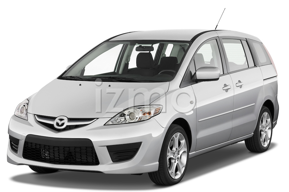 Front three quarter view of a 2008 Mazda 5
