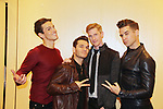 The Boy Band Project - 30th Anniversary of the Jane Elissa Extravaganza to benefit The Jane Elissa Charitable Fund for Leukemia & Lymphoma Cancer, Broadway Cares & other charities on October 30. 2017 at the New York Marriott Marquis, New York, New York. (Photo by Sue Coflin/Max Photo)
