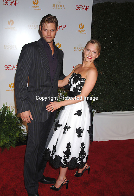 Justin Bruening and Alexa Havins ..at The SOAPnet and The National Academy Of Television Arts & Sciences Annual Daytime Emmy Awards Nominee Party on April 27, 2006 at The Hollywood Roosevelt Hotel. ..Robin Platzer, Twin Images