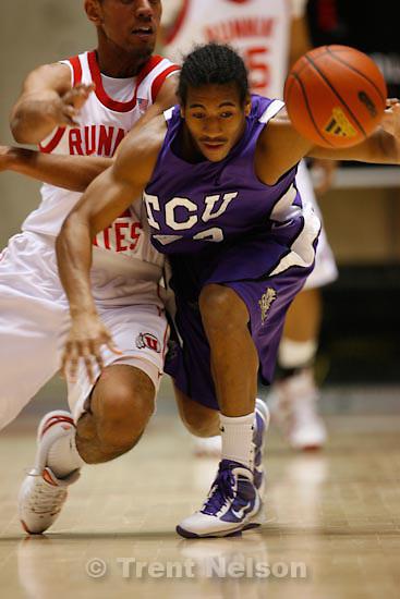 Trent Nelson  |  The Salt Lake Tribune.University of Utah vs. TCU mens college basketball, Saturday, January 9, 2010.