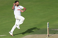 Ravi Bopara of Essex in bowling action during Nottinghamshire CCC vs Essex CCC, Specsavers County Championship Division 1 Cricket at Trent Bridge on 11th September 2018