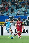 Jiangsu FC Forward Alex Teixeira (L) in action against Shanghai FC Defender Wang Shenchao (R) during the AFC Champions League 2017 Round of 16 match between Jiangsu FC (CHN) vs Shanghai SIPG FC (CHN) at the Nanjing Olympic Stadium on 31 May 2017 in Nanjing, China. Photo by Marcio Rodrigo Machado / Power Sport Images