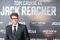 """ATENCAO EDITOR IMAGEM EMBARGADA PARA VEICULOS INTERNACIONAIS - MADRI, ESPANHA, 13 DEZEMBRO 2012 - PRE ESTREIA """"JACK REACHER - O diretor de cinema Christopher McQuarrie durante pre estreia espanhola do filme """"Jack Reacher""""no Callao Cinema em Madri capital da Espanha, nesta quinta-feira, 13. (FOTO: ALFAQUI / BRAZIL PHOTO PRESS)."""