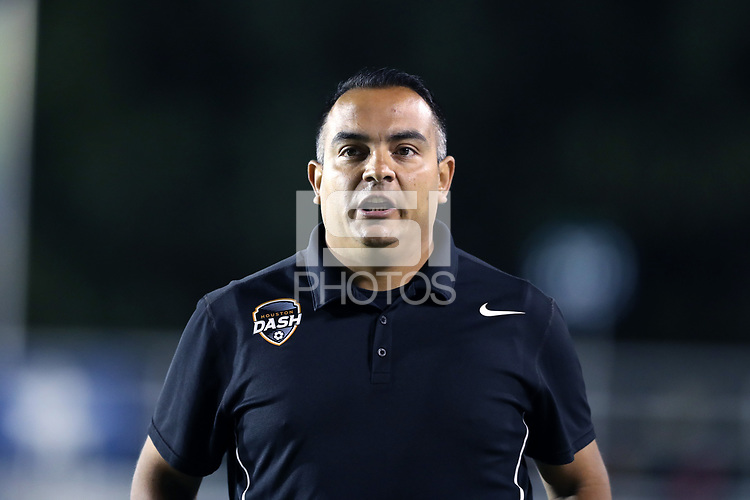 Cary, North Carolina  - Saturday September 09, 2017: Omar Morales during a regular season National Women's Soccer League (NWSL) match between the North Carolina Courage and the Houston Dash at Sahlen's Stadium at WakeMed Soccer Park. The Courage won the game 1-0.