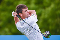 Ollie Schniederjans (USA) watches his tee shot on 9 during round 1 of the AT&T Byron Nelson, Trinity Forest Golf Club, Dallas, Texas, USA. 5/9/2019.<br /> Picture: Golffile | Ken Murray<br /> <br /> <br /> All photo usage must carry mandatory copyright credit (© Golffile | Ken Murray)