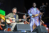 Jun 24, 2016: DAMON ALBARN - Glastonbury Festival Day One