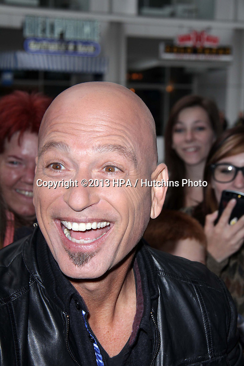 "LOS ANGELES - APR 24:  Howie Mandel arrives at the ""America's Got Talent"" Los Angeles Auditions at the Pantages Theater on April 24, 2013 in Los Angeles, CA"