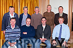 Members of the ICMSA who held County executive post qouta market update meeting in the Ballygarry House hotel on Wednesday night front row l-r: Denis Carroll County secretary, Pat McCormack ICMSA National vice President and Dairy Chairman, Patrick Rohan Farm services committee, back row Maurice Walsh Lixnaw, Noel Murphy Milltown, Conleth McMahon Listowel, Tommy O'Connor Lisselton, Seamus Kirby Area Officer