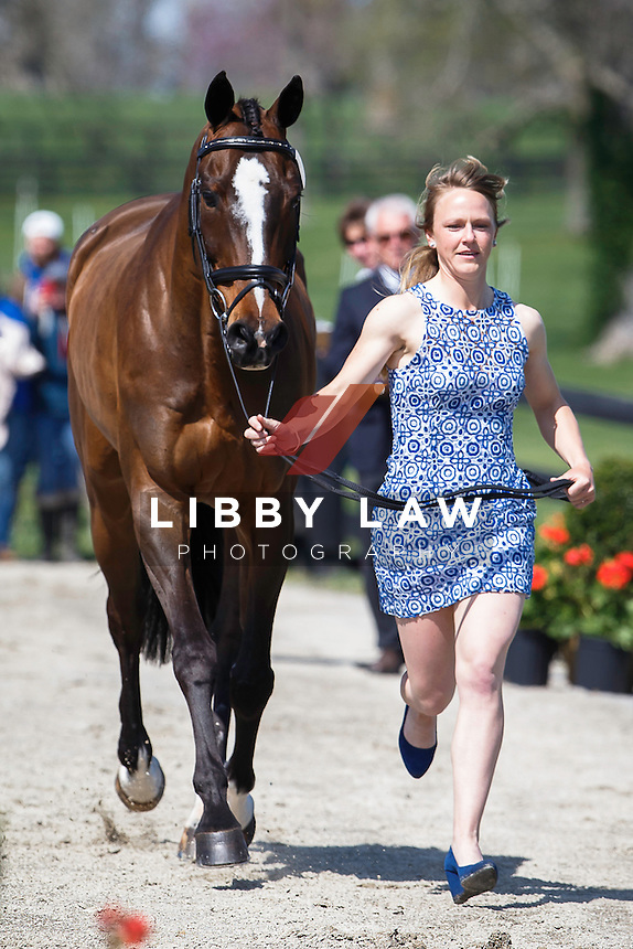 USA-Jimmie Schramm (BELLAMY) THE JOG: 2015 USA-Rolex Kentucky Three Day Event CCI4* (Wednesday 22 April) CREDIT: Libby Law COPYRIGHT: LIBBY LAW PHOTOGRAPHY