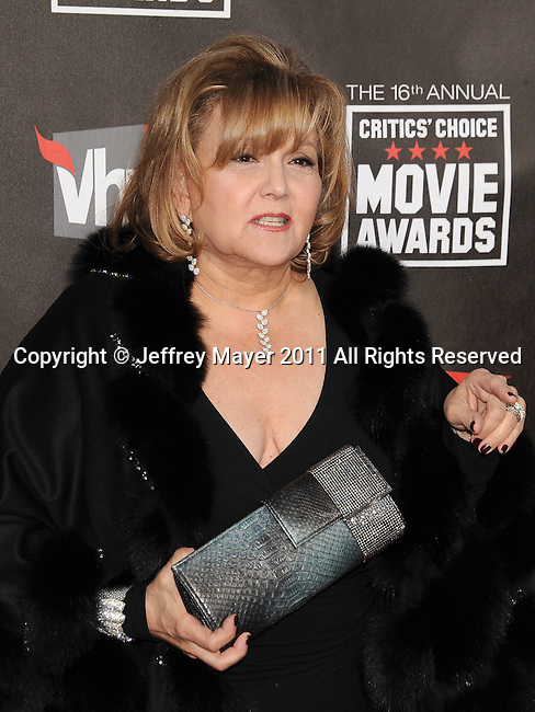HOLLYWOOD, CA - January 14: Brenda Vaccaro  arrives at the 16th Annual Critics' Choice Movie Awards at the Hollywood Palladium on January 14, 2011 in Hollywood, California.