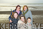 Pictured at Ballyheigue races on New Year's Day were l-r: Katelyn Guerin, Kathleen Guerin, Ellen O'Donoghue, Gina O'Donoghue and Maurice O'Donoghue (All, Causeway)..