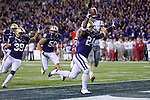 Jesse Callier. The University of Washington beat Washington State University to win the 2011 Apple Cup 38-21 at Century Link Field in Seattle on Saturday November 26, 2011 (Photography By Scott Eklund/Red Box Pictures)