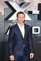 James McAvoy<br /> at the &quot;X-Men Apocalypse&quot; premiere held at the IMAX, South Bank, London<br /> <br /> <br /> &copy;Ash Knotek  D3116  09/05/2016