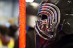 Kylo Ren cosplay at Expocomic 2016 in Madrid, Spain. December 03, 2016. (ALTERPHOTOS/BorjaB.Hojas)