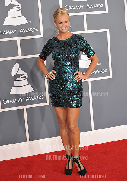 Nancy O'Dell at the 54th Annual Grammy Awards at the Staples Centre, Los Angeles..February 12, 2012  Los Angeles, CA.Picture: Paul Smith / Featureflash