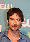 Ian Somerhalder - Vampire Diaries - The CW Upfront - Red Carpet Arrivals on May 19, 2016 at t he London Hotel, New York City, New York. (Photo by Sue Coflin/Max Photos)