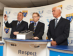 Alex Salmond pulls out East Fife as opponents for Rangers