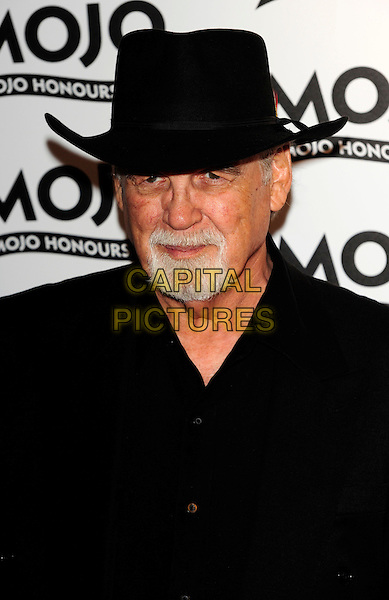 DUANE EDDY .Attends the MOJO Honours List.The Brewery on June 10, 2010 in London, England, UK, 10th June 2010..awards portrait headshot beard facial hair cowboy hat goatee black .CAP/CJ.©Chris Joseph/Capital Pictures.