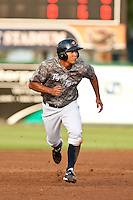 Chao-Ting Tang (37) of the Lakeland Flying Tigers during a game vs. the Tampa Yankees May 15 2010 at Joker Marchant Stadium in Lakeland, Florida. Tampa won the game against Lakeland by the score of 2-1.  Photo By Scott Jontes/Four Seam Images