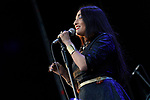 Hindi Zahra in concert durin 'Las Noches del Botanico 2019 -The nights in the Botanic 2019'. July 3, 2019. (ALTERPHOTOS/Acero)