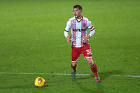 Mark McKee of Stevenage during Stevenage vs Brighton & Hove Albion Under-21, Checkatrade Trophy Football at the Lamex Stadium on 7th November 2017