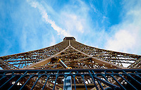 Eiffel Tower sky view
