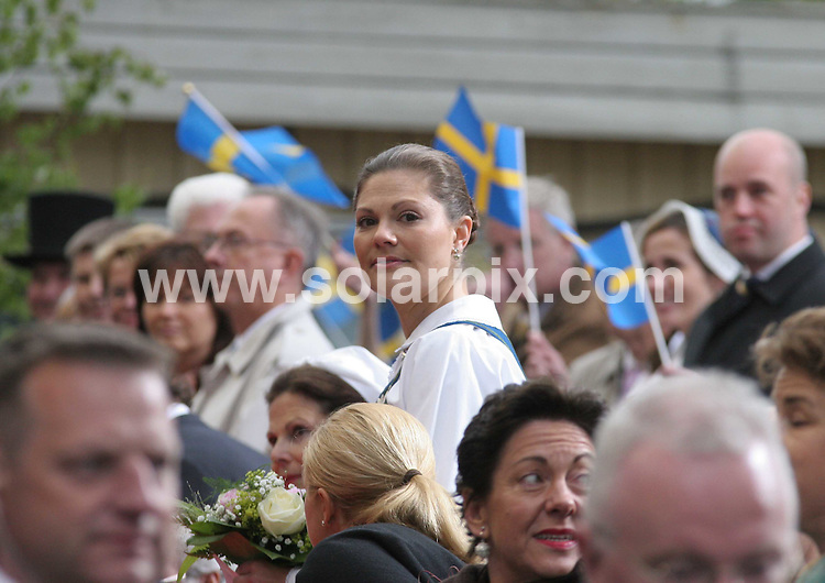 **ALL ROUND PICTURES FROM SOLARPIX.COM**.**SYNDICATION RIGHTS FOR UK AND SPAIN ONLY**.Princess Madeleine of Sweden opens the gates to the Stockholm Palace for the annual 'Open Palace' event, which allows public to visit the palace, as part of the celebrations of Swedish National Day. Stockholm, Sweden. 6 June 2009..This pic: Princess Victoria of Sweden..JOB REF: 9194 PRT (Berggren   DATE: 06_06_2009.**MUST CREDIT SOLARPIX.COM OR DOUBLE FEE WILL BE CHARGED**.**ONLINE USAGE FEE GBP 50.00 PER PICTURE - NOTIFICATION OF USAGE TO PHOTO @ SOLARPIX.COM**.**CALL SOLARPIX : +34 952 811 768 or LOW RATE FROM UK 0844 617 7637**