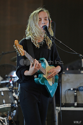 MIAMI FL - MAY 11:  Amber Bain of The Japanese House performs at Bayfront Park Amphitheater on May 11, 2016 in Miami, Florida. Credit: mpi04/MediaPunch