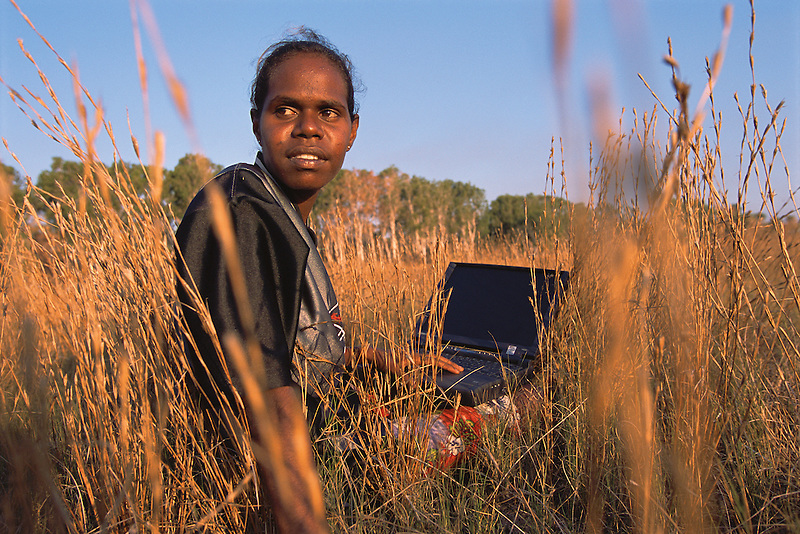Winnie Yunkaporta, Wanem Clan group, Aurukun, Cape York Peninsula.
