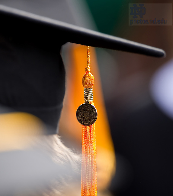 2010 Commencement..Photo by Matt Cashore/University of Notre Dame