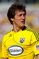 27 MARCH 2010:  Guillermo Barros Schelotto of the Columbus Crew (7) during the Toronto FC at Columbus Crew MLS game in Columbus, Ohio on March 27, 2010. Crew defeated Toronto FC 2-0.