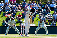 Jeet Raval of the Black Caps during Day 2 of the Second International Cricket Test match, New Zealand V England, Hagley Oval, Christchurch, New Zealand, 31th March 2018.Copyright photo: John Davidson / www.photosport.nz