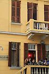 Israel, Tel Aviv-Yafo, Frida Kahlo restaurant on Lilienblum Street