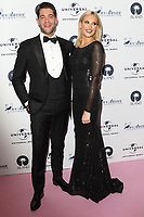 Stephanie Pratt and Jonny Mitchell at the Amy Winehouse Foundation Gala held at the Dorchester Hotel, Park Lane, London on October 5th 2017<br /> CAP/ROS<br /> &copy;ROS/Capital Pictures