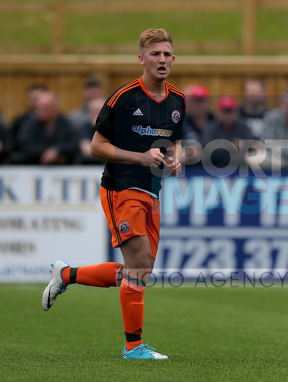 Harvey Gilmour of Sheffield Utd during the pre season match at the Flamingo Land Stadium, Scarborough. Picture date 15th July 2017. Picture credit should read: Richard Sellers/Sportimage