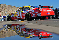 Nov. 7, 2008; Avondale, AZ, USA; NASCAR Sprint Cup Series driver Bill Elliott during practice for the Checker Auto Parts 500 at Phoenix International Raceway. Mandatory Credit: Mark J. Rebilas-