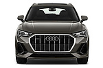 Car photography straight front view of a 2019 Audi Q3 S-line 5 Door SUV Front View