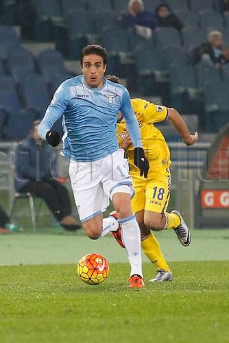 14.12.2015. Stadium Olimpico, Rome, Italy.  Serie A football league. SS Lazio versus Sampdoria. Matri Alessandro in action