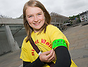 09/06/2010   Copyright  Pic : James Stewart.006_big_fit_walk  .::  HELIX PROJECT ::  THE HELIX GREEN TEAM'S OLIVIA EXLEY PREPARES TO SET OUT ON THE BIG FIT WALK WITH MSPS FROM THE SCOTTISH PARLIAMENT ::.