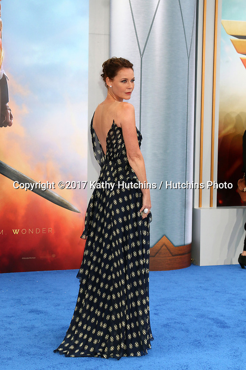 """LOS ANGELES - MAY 25:  Connie Nielsen at the """"Wonder Woman"""" Los Angeles Premiere at the Pantages Theater on May 25, 2017 in Los Angeles, CA"""