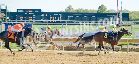 Ganesha winning at Delaware Park on 10/13/12
