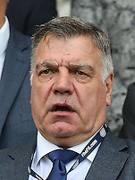 England National Team Manager Sam Allardyce during the International EURO U21 QUALIFYING - GROUP 9 match between England U21 and Norway U21 at the Weston Homes Community Stadium, Colchester, England on 6 September 2016. Photo by Andy Rowland / PRiME Media Images.