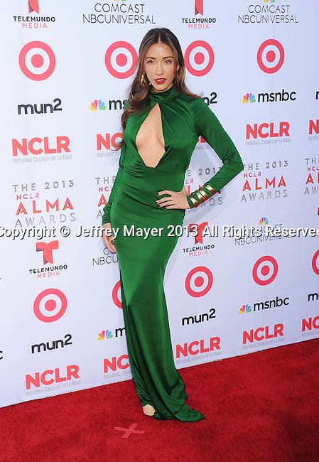 PASADENA, CA- SEPTEMBER 27: Actress Fernanda Romero arrives at the 2013 NCLA ALMA Awards at Pasadena Civic Auditorium on September 27, 2013 in Pasadena, California.