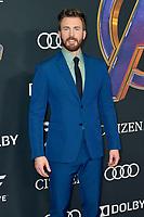 Chris Evans bei der Weltpremiere des Kinofilms 'Avengers: Endgame' im Los Angeles Convention Center. Los Angeles, 22.04.2019