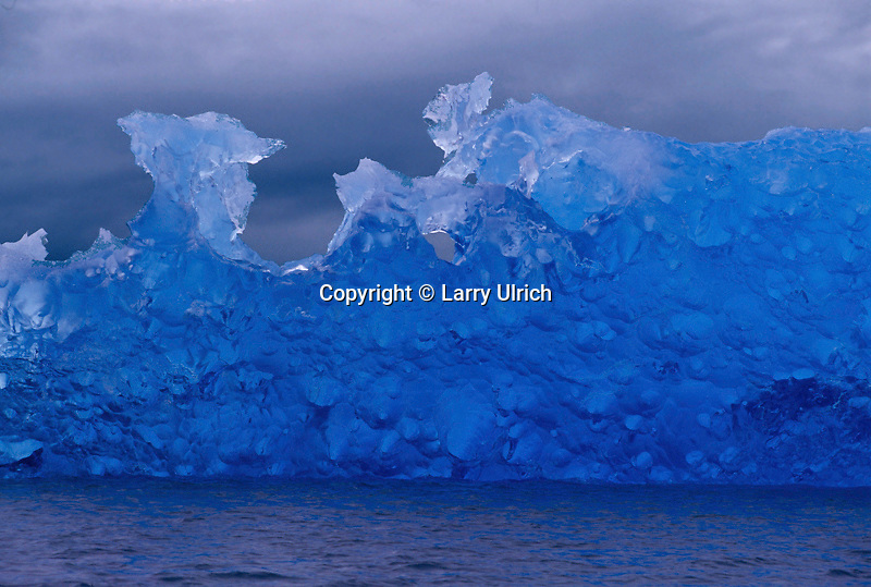 Iceberg from Le Conte Glacier<br /> Le Conte Bay<br /> Inside Passage, Tongass National Forest<br /> Southeast Alaska