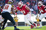Wisconsin Badgers defensive lineman Alec James (57) during an NCAA Big Ten Conference football game against the Maryland Terrapins Saturday, October 21, 2017, in Madison, Wis. The Badgers won 38-13. (Photo by David Stluka)
