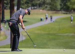 Marty Fish putts during the ACC Golf Tournament at Edgewood Tahoe Golf Course in South Lake Tahoe on Sunday, July 14, 2019.