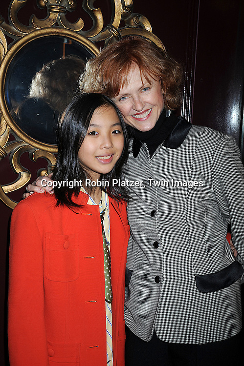 """Jill Larson, actress in this movie and  on All My Children and daughter Anni Ming.. arriving at The New York Novie Premiere party for """"Were The World Mine"""" on November 21, 2008 at Country Club.....Robin Platzer, Twin Images"""