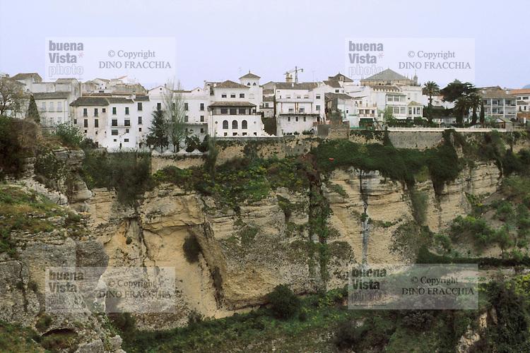 - Andalusia, the Ronda town....- Andalusia, la citt? di Ronda..