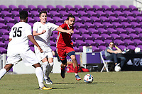 Orlando, Florida - Wednesday January 17, 2018: Manuel Cordeiro. Match Day 3 of the 2018 adidas MLS Player Combine was held Orlando City Stadium.